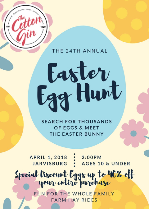 Join our Annual Easter Egg Hunt